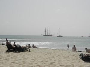 Ön Sal och byn Santa Maria