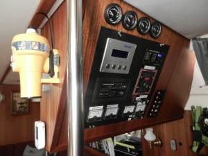 EPIRB och övervakningspanel