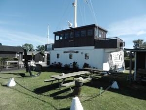 Råå båtklubbs klubbhus