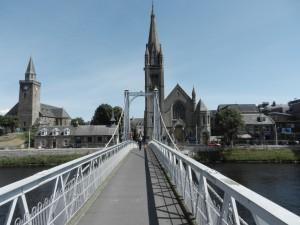 Hänggångbro i Inverness
