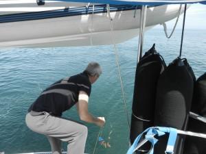 Fiskeförsök på Biscaya