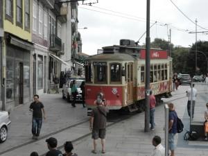 Spårvagn i Porto