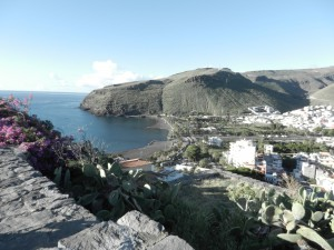 Huvudorten på La Gomera