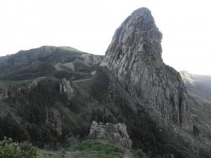 Härliga bergsformationer på La Gomera