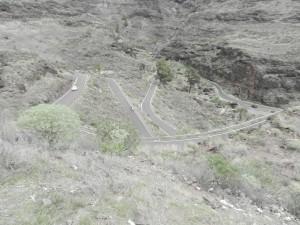 Slingriga vägar på Gran Canaria