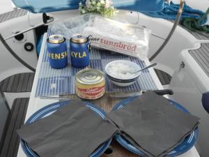 Sista måltiden på Gran Canaria