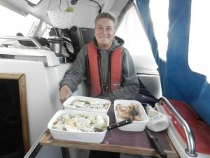 Tonfisksallad på Atlanten