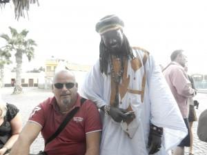 Första bekantskapen på Sal, mycket trevlige Oumar