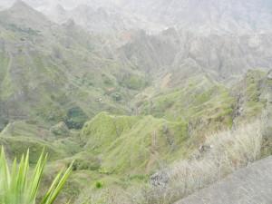 Mera natur på Sao Antao. Ca 800 m ner i dalen