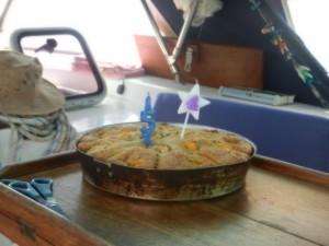 Sussane har bakat 54 ars mangokaka till mig