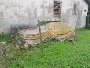 Ett brasilianskt garage modell enkelt