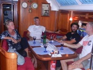 Trevlig kväll med Marcos från Uruguay