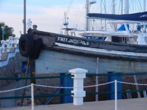 Kan det ha varit i denna Fritjof Andersson seglade in i Samboronbon?
