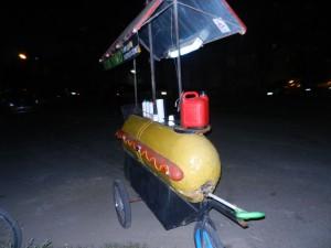 Korvvagnen i Juan Lacaze