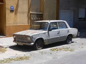 Körklar Uruguay bil.
