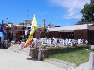 Marinans enkla och trevliga bar och restaurang