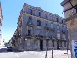 Typiskt hus i Montevideos stadskvarter