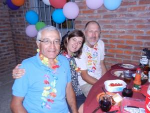 Kees samt Sarah och Jorge från Montevideo