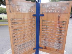 Några av OS delegaterna