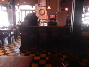 En mycket trevlig lunchbar/restaurang i stadsdelen San Telmo