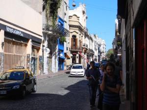 Stadsdelen San Telmo.