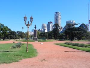 Grönområde mitt i stan