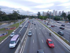 Mindre genomfartsled i Sao Paulo