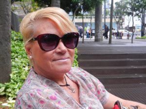 Glad Lena efter fyra dagar i Sao Paulo