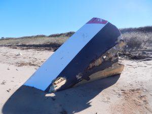 Förskeppet från en argentinsk tävlingssegelbåt