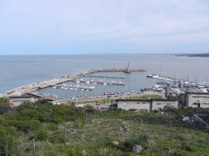 Hamnen och varvsområdet i Piriapolis
