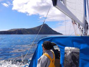 Pa vag att runda sydligaste udden pa Kap Horn.