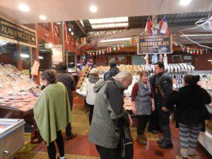 Fiskmarknaden i Puerto Montt