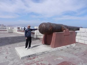 Rejäl kanon i La Serena