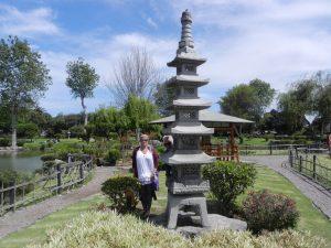 Japanska parken i La Serena
