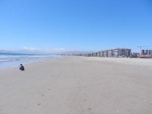 Strandvy i La Serena