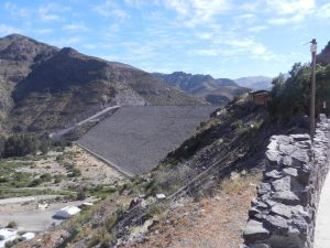 Fördämning för vattenkraftverk