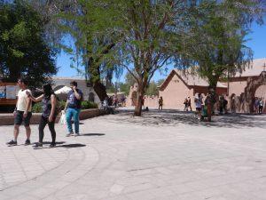 Plazan i San Pedro de Atacama