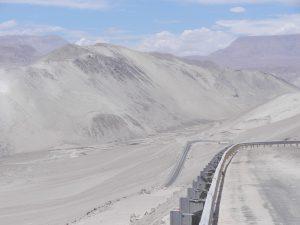 Fin dal på väg mot kusten och Arica