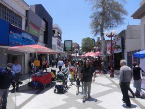 Shopping gatan i Arica