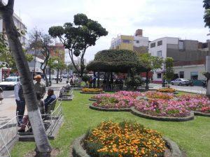 Peru och staden Tacna