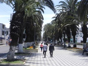 En boulevard i Tacna