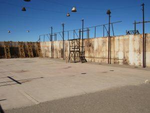 Tennisplan i Humberstone