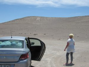 Lena och Giant of Atacama