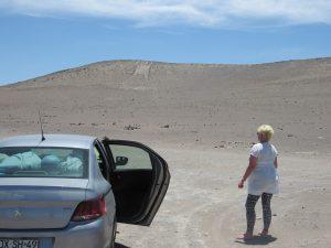 Lena och Giant of Atacama