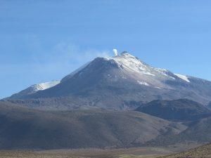 Vulkanen Parinacota 6300 möh