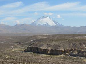 Vacker klassisk vulkan