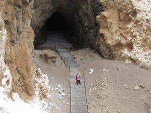 Grottorna söder om Arica